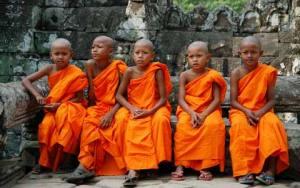 five little monks
